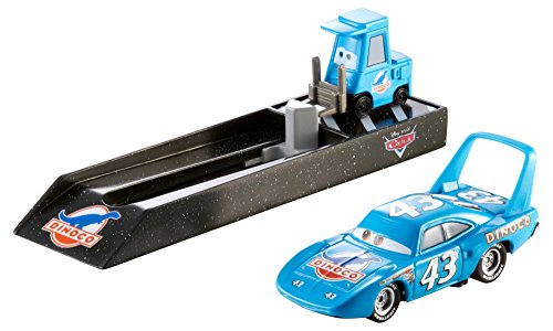 Disney Pit Pixar Cars - Disney Cars Pit Crew Launchers, #43 Dinoco The King