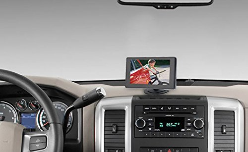 Top Dawg MS356LP Wired License Plate Backup Camera Kit with 4.3-Inch LCD