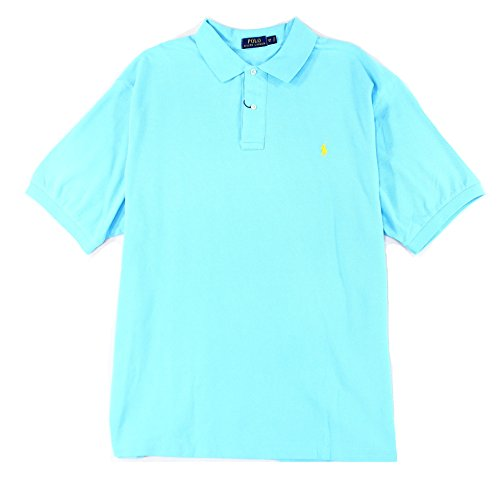 Polo Ralph Lauren BIG & TALL French Turquoise Classic S/S Polo Shirt-Size 3XLT