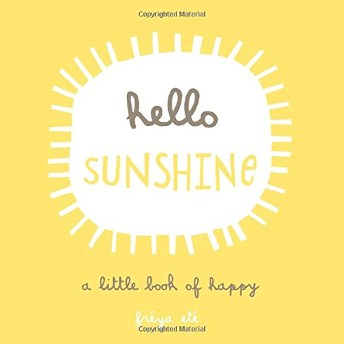 Hello Sunshine Little Book Happy product image