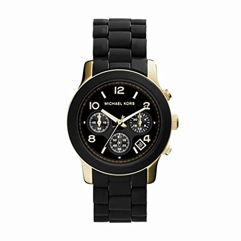 Michael Kors Women's Runway Black Watch MK5191 (Watches Michael Kors In Clearance)