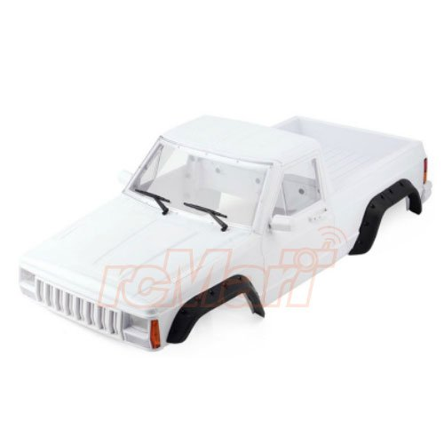 Xtra Speed Cherokee XJ ABS Pickup Truck Hard Plastic Body Kit 313mm w/Interior Kit For Axial RC4WD #XS-59788 Abs Plastic Body