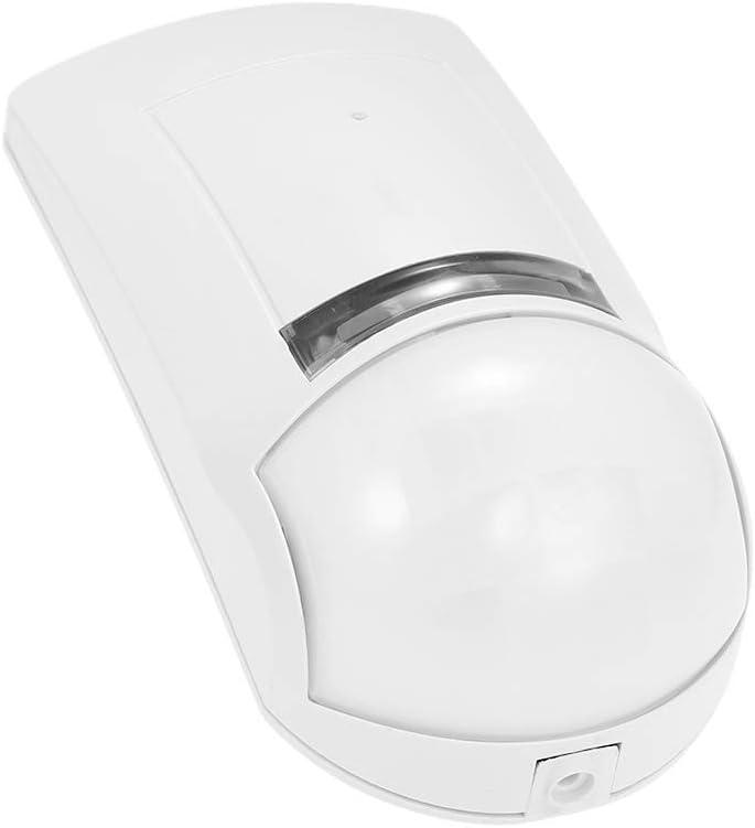 OWSOO Detector de Movimiento PIR, Microonda Infrarrojo Pasivo Dual, Sensor de Movimiento, Montado en Pared, Salida NC, Sistema de Alarma, Seguridad de ...
