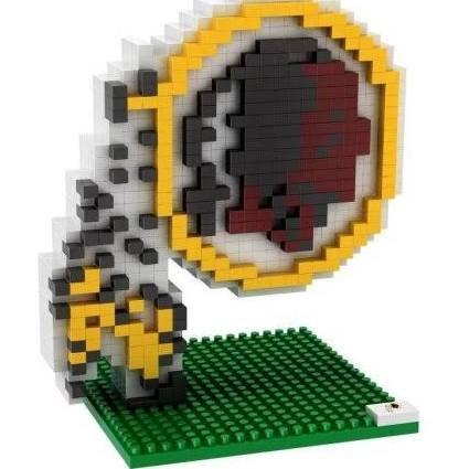 Washington Block (NFL Brxlz Team Logo Building Block Set (Washington Redskins))