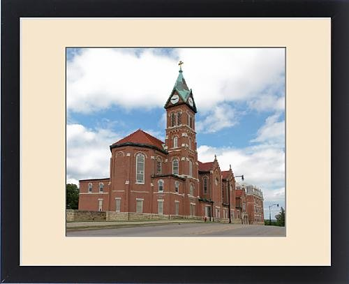 Framed Print of IA, Dubuque, Loras College, founded in 1839 by Fine Art Storehouse