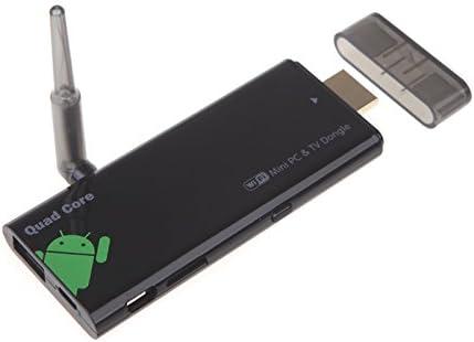 Andoer Android 4.4 CX919 Caja de TV Smart TV Quad Core Mini PC Streaming Reproductor multimedia 2GB 8GB 1080P Antena external de wifi XBMC DLNA