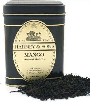 Mango Fruit Tea, Loose tea in 4 Ounce tin