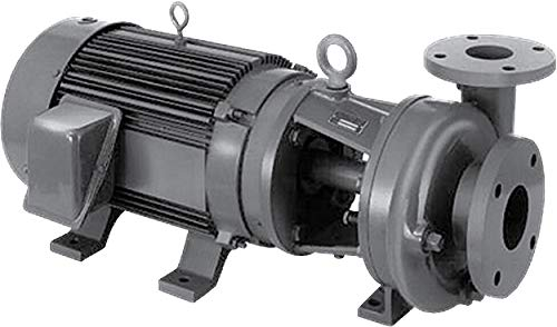 Image of Centrifugal Pumps MP Pumps 039-38463 SERIES 300 End Suction Centrifugal Pump, Cast Iron, PumPak, Hydraulic, 7.0' Impeller, Foot Mount, No Motor, Discharge, Viton, 3' x 2-1/2'