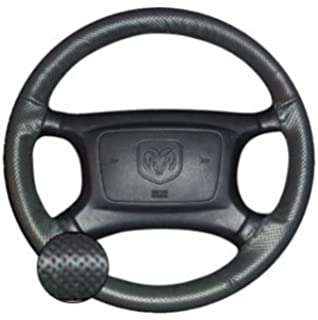 Custom Fit Leather Steering Wheel Cover Wheelskins Smooth Perforated 15 1//2 X 4