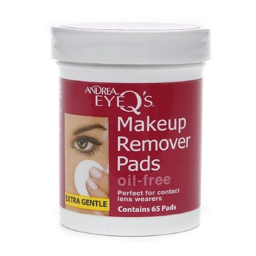 Andrea EyeQ's EyeQ's Eye Make-Up Remover Pads, Oil Free 65 ea