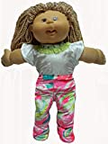 Doll Clothes Super store Bright Color Wow 3 Piece Outfit Fits Cabbage Patch Kid And Baby Dolls