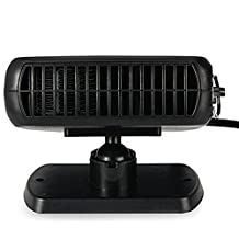 150W Portable 12V Auto Car Heater Heating Fan with Swing-out Handle Driving Enthusiasts Car-Styling Defroster Demisterr