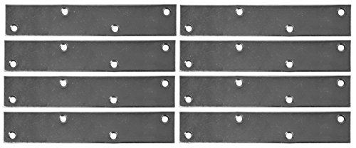 (Bulldog 6 inch Zinc Plated Mending Plate, 8 Count)