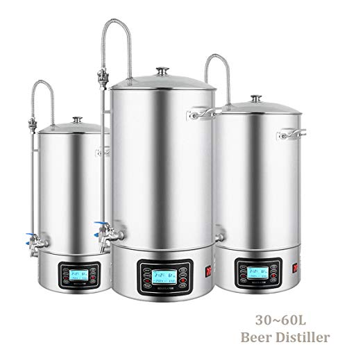 Home Brew Beer Lager Making Equipment All Grain Beer Brewing System (15 Gallon/60L)