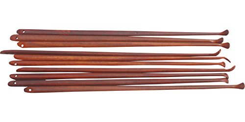 Full Funk Ear Wood Removal Tool Handcrafted Rosewood From Thailand Set of 10pcs -