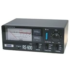 Maas RS-600 - Medidor de frecuencias ROE (1,8 - 525 MHz)