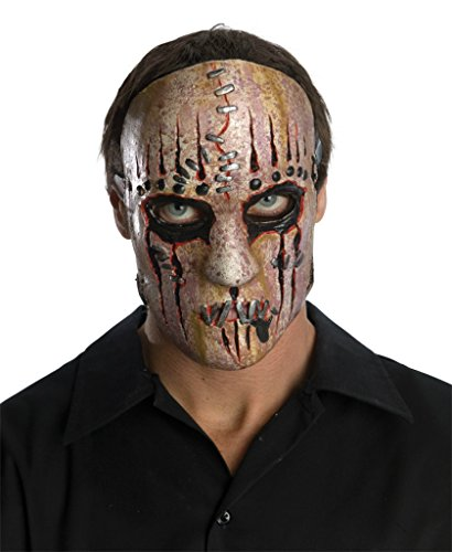 Slipknot Joey Heavy Metal Band Scary Latex Adult Halloween Costume Mask -
