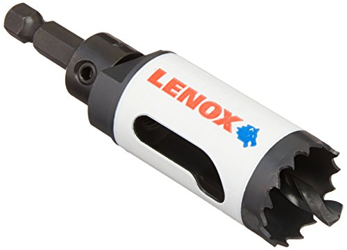LENOX Tools Bi-Metal Speed Slot Arbored Hole Saw with T3 Technology, 1-1/8-Inch by Lenox Tools