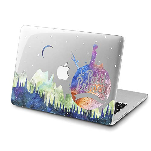 Lex Altern MacBook Air Case 13 inch Pro 15 2018 2017 The Little Prince Mac Cute Hard 11 Funny Planet Retina 12 Cover Space Soft Clear 2016 Plastic Laptop Protective Girly Print 2015 Touch Bar Forest
