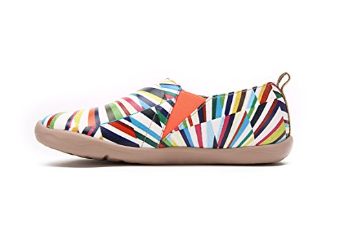 38 UIN Womens Microfiber Kaleidoscope Kaleidoscope Womens Comfort UIN Multicolor Comfort Shoes Boat PafwOxxq