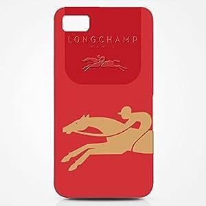 Longchamp Horse Logo Back Cover For Blackberry Z10 3D Hard Plastic Case
