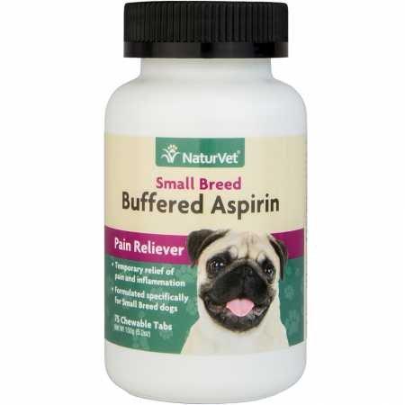 NaturVet Buffered Aspirin Small Breed (75 (Dog Aspirin)