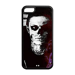 Novel Style American Horror Story Printed Case Cover for iphone 5c -Soft TPU Back Designer Case Protector Black 022704
