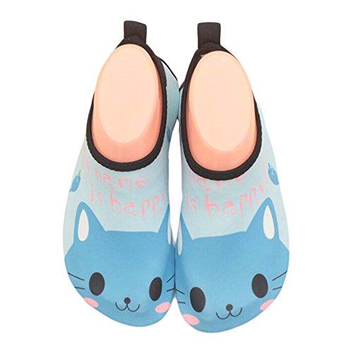 Douce D'eau Sock Clair De Indoor Bleu Enfants Plage Chaussures Sport vRXSXH
