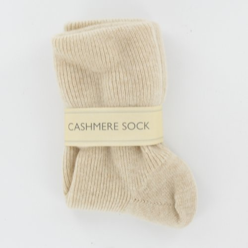 - Women's Linen Cashmere Mix Socks Made in Scotland (85% Cashmere 15% Nylon)
