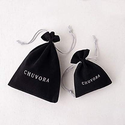 "Chuvora Women's Handblown Murano Glass Blue Sea Wave Teardrop Pendant Necklace, 17+2"" Extender"