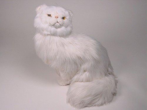 Piutrè 0311 45 cm Sentado Blanco Gato Persa de Peluche: Amazon.es: Juguetes y juegos