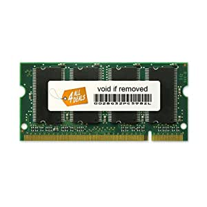 1GB RAM Memory Upgrade for the Toshiba Satellite A45, A55, A65 and A75 Series Notebook Laptops (DDR-333, PC2700, SODIMM)