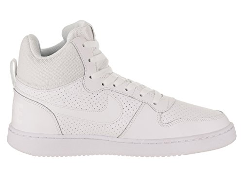 White Scarpe Nike White da Mid Uomo Basket Court Borough t0qB0