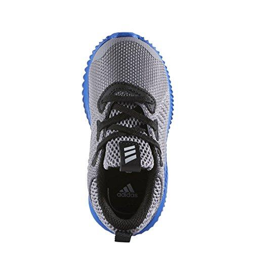 adidas alphabounce i - Zapatillas deportivaspara niños, Gris - (GRIS/ONICLA/AZUL), 26
