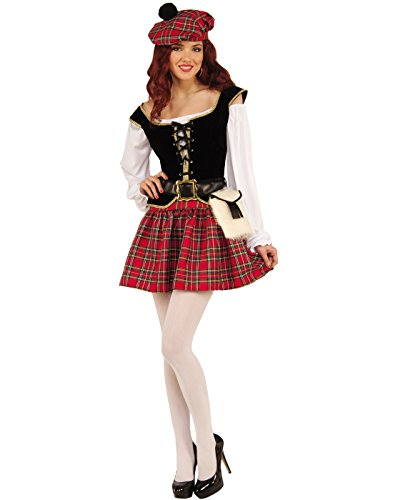 Forum Women's Saucy Scotty Girl Costume, As Shown, STD