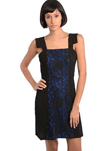 h and m blue lace dress - 9
