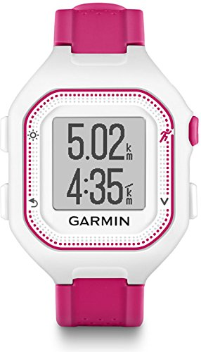 Garmin Forerunner 25 GPS Running Watch Pink White Size Small by Garmin
