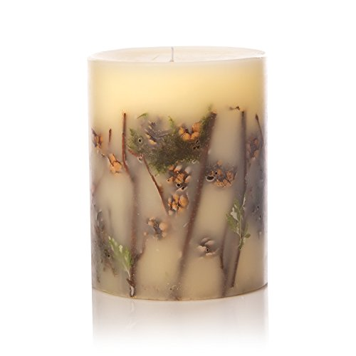 Rosy Rings Forest Tall Round Scented Candles, 5''