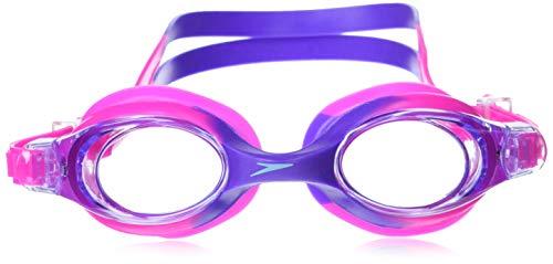 Speedo Unisex-Child Swim Goggles Skoogle Ages 3 - 8, Bright Pink, One Size