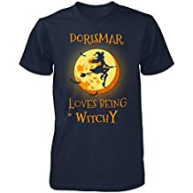 Dorismar Loves Being Witchy. Halloween Gift - Unisex Tshirt