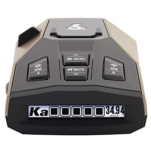 Cobra RAD 450 Laser Radar Detector: Long Range, False Alert Filter, Voice Alert & OLED Display (Best Radar Detector For The Money)