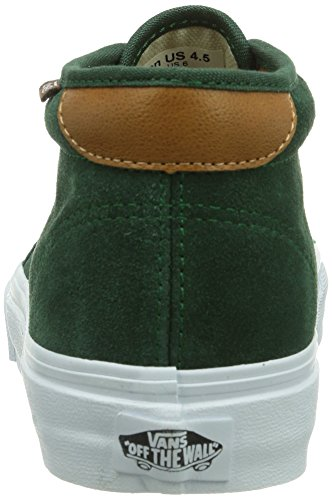 Vans U CHUKKA 69  (SUEDE)GRDNTPRY - zapatilla deportiva de cuero unisex verde - Grün ((Suede)GrdnTpry / DZ2)