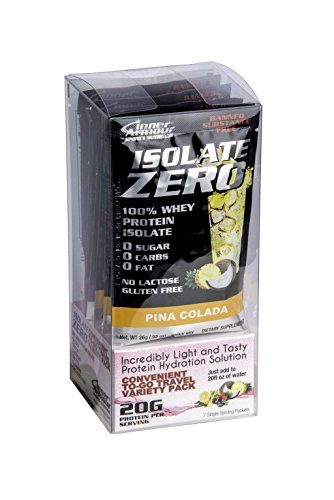 Inner Armour Isolate Zero, Grab-and-Go Variety Pack | 100% Whey Protein Isolate | 7 Pack