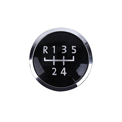 Hamimelon 5-Speed Gear Knob Badge Emblem Cap Cover for sale  Delivered anywhere in USA