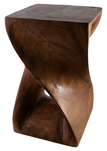 Table Honey Twist par Something Different - Marron - 51 x 28 x 28 centimètres