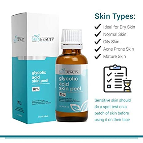 Amazon Com Glycolic Acid 70 Skin Chemical Peel Unbuffered