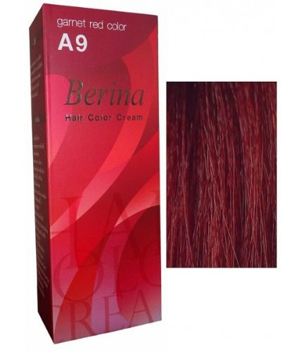 Permanent Hair Colour Dye Berina Garnet Red