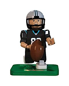 NFL GEN3 Carolina Panthers Greg Olsen Limited Edition Minifigures, Blue, Small