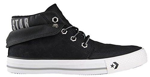 Converse Chucks Star Desert MID Sneaker Herren Turnschuhe schwarz Leder 135832 C (42)