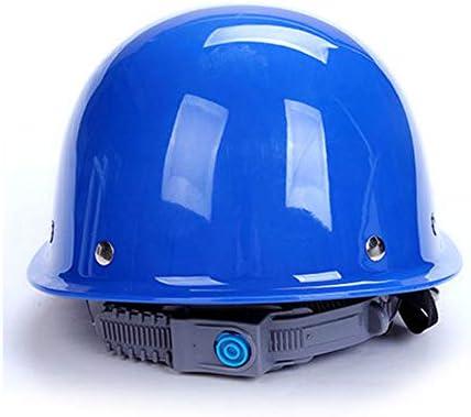 MEI XU 建設安全ヘルメット - サイトリーダーシップ建設換気ヘルメット工学労働保険ABSハードヘルメット保護ヘルメット(4色の選択) // (色 : 青)
